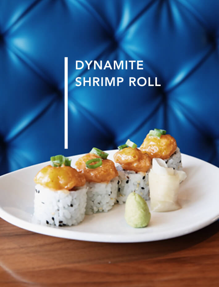 Dynamite Shrimp Roll