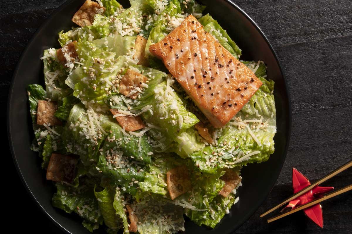 Asian Caesar Salad